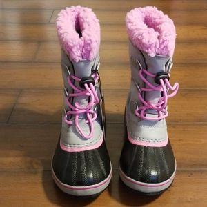 Kids Sorel Yoot Pac Nylon Boots
